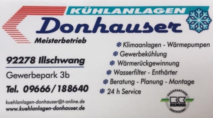 Kühlanlagen Donhauser -Das Unternehmen