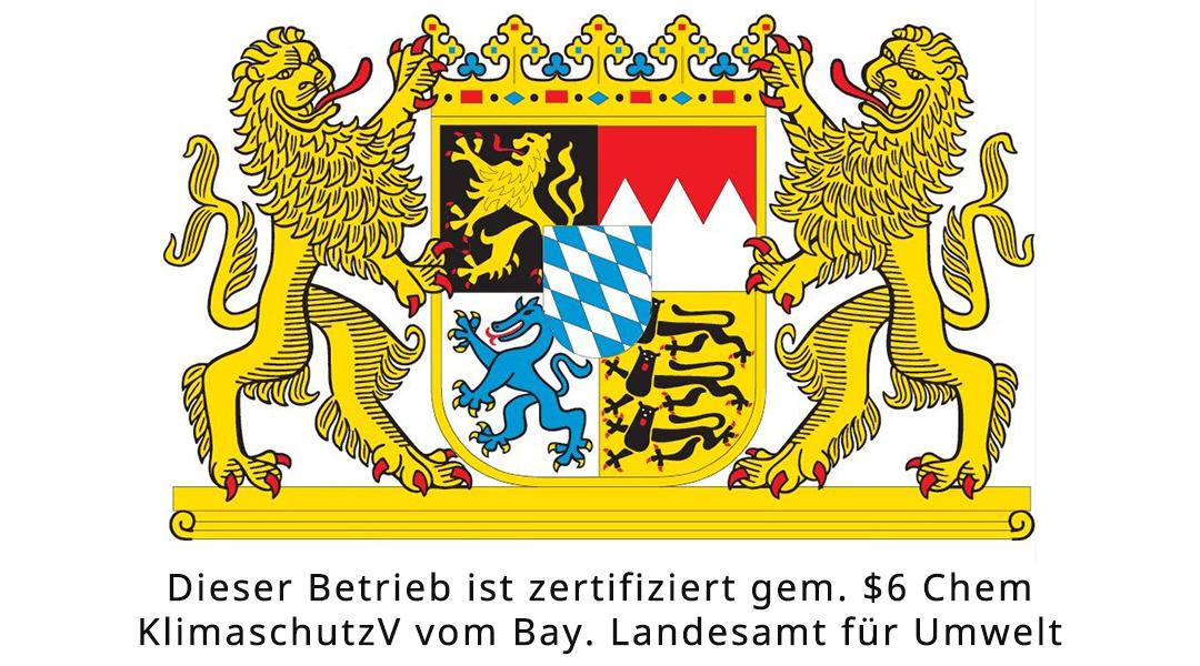 Kühlanlagen Donhauser - Zertifizierung